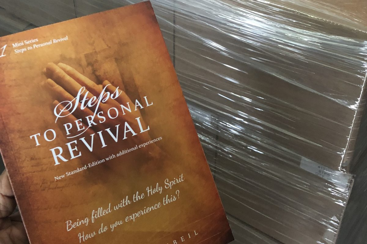 BACK IN STOCK!  Steps To Personal Revival…